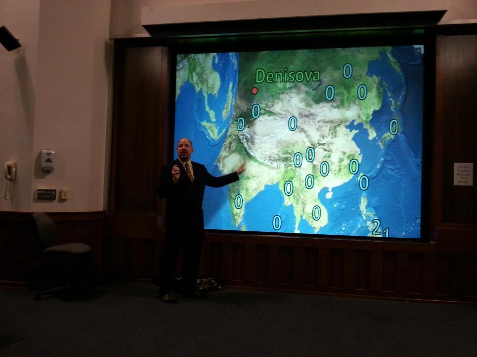 John Hawks, Denisovan weatherman