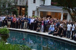 Presenters' Dinner at Boyd Eaton's House in Atlanta, GA, 15 August 2013