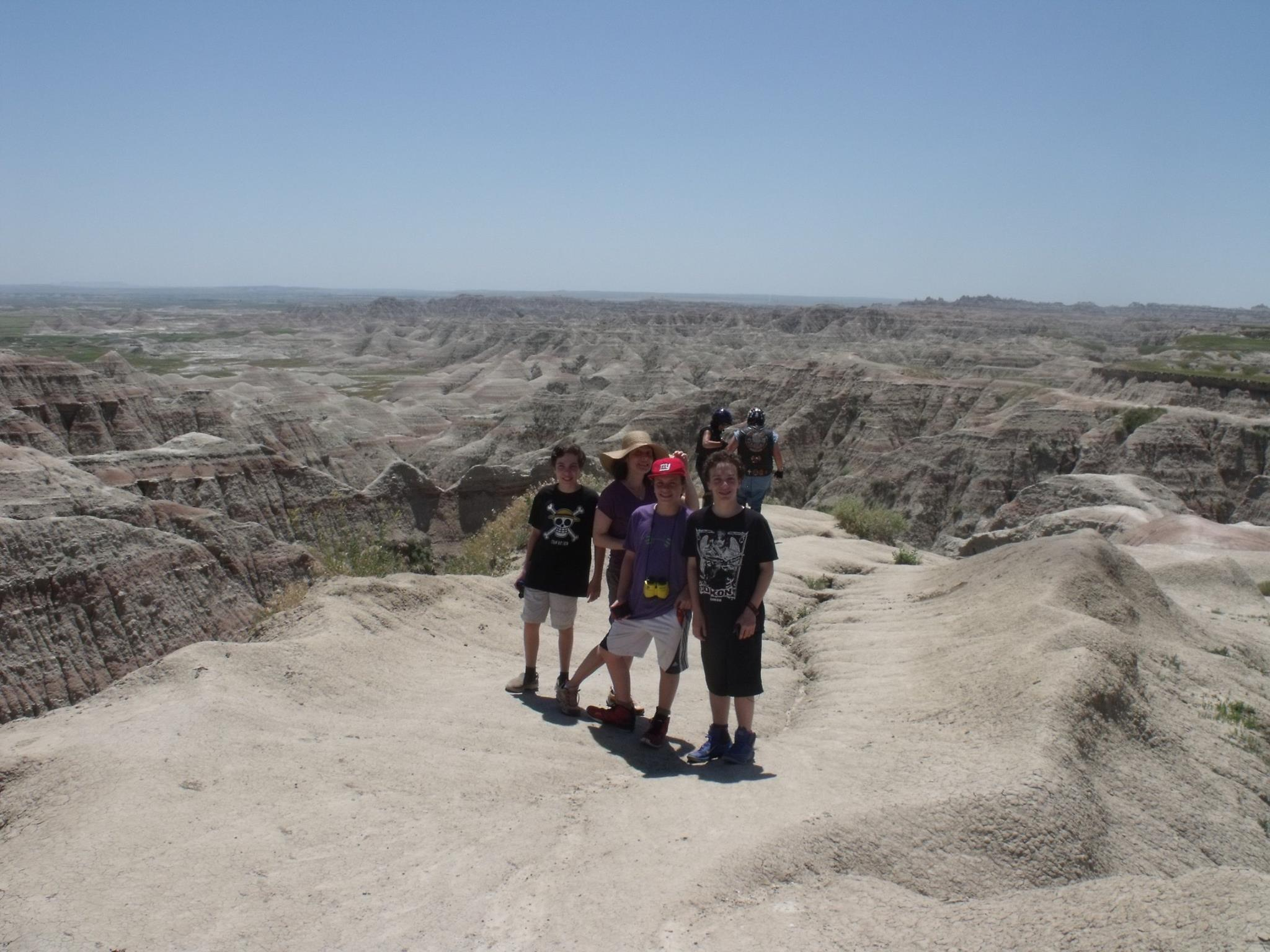 Why do they call them The Badlands, you ask? Behold. Yet majestic.
