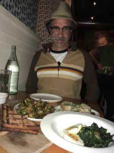 Among the joys of anthropology, traveling, & conferencing is food, natch. Dinner at The Bachelor Farmer, Mpls, MN. Photo by Michaela Howells.