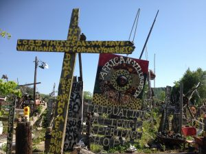For Mothers Day, we visited the eccentric African Village in America In Birmingham, AL.