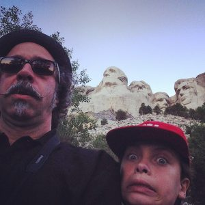 Jagger and I at Mount Rushmore.