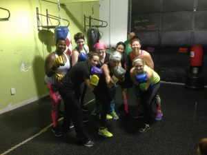 Chelsa and the badass women she works out with at SRG, 11/26/16.