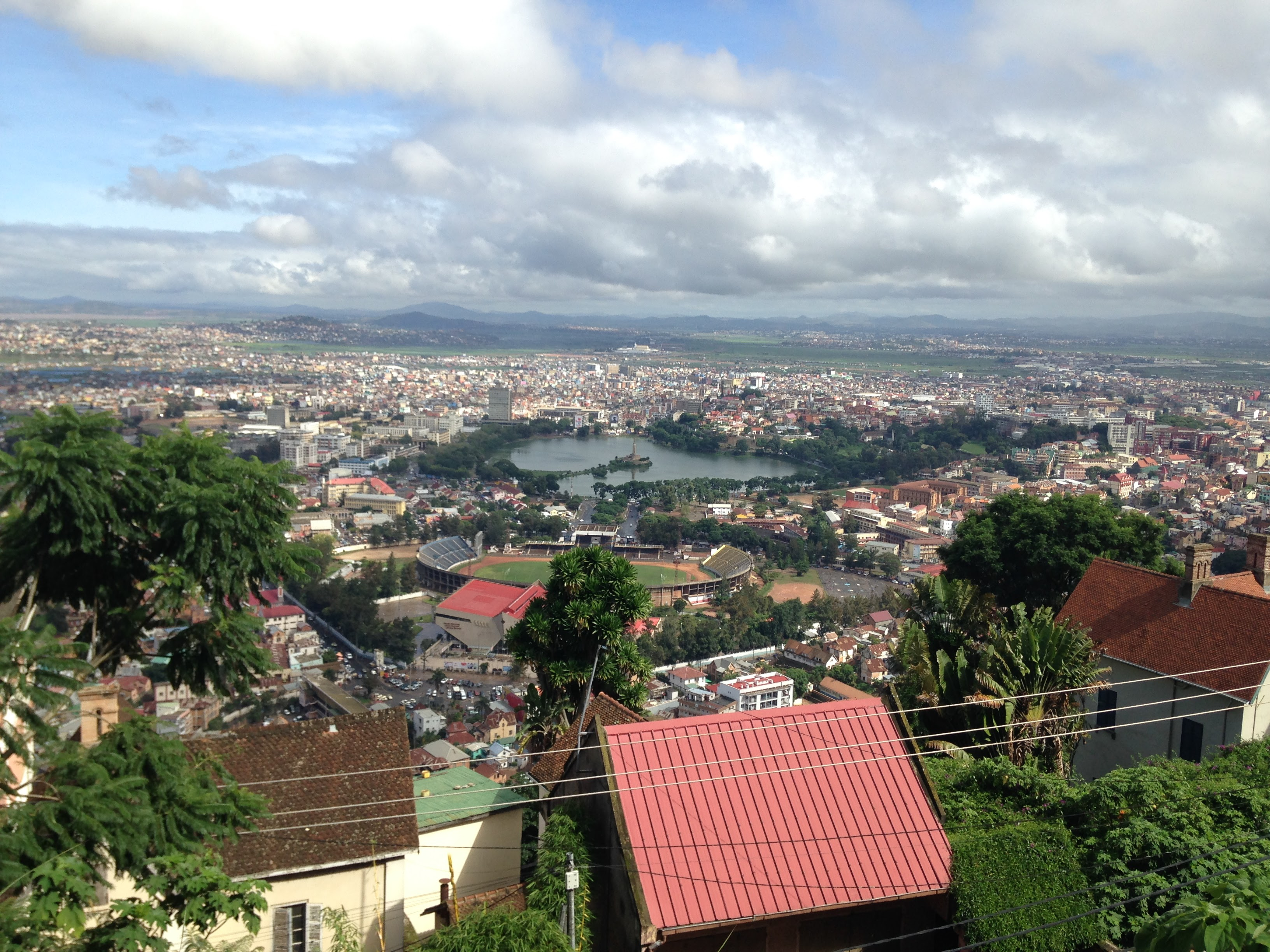 View of Antananarivo, Madagascar from Haute Ville (Upper Town)