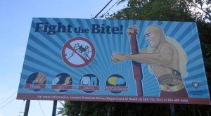 Fight the Bite American Samoa Department of Health campaign