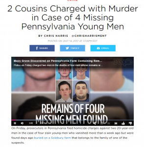 2 Cousins Charges with Murder